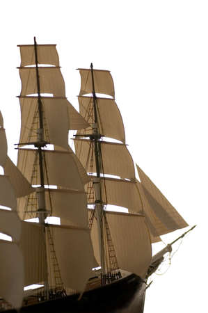 sark: Model of the famous clipper ship the Cutty Sark. I made this myself and it took me over one year to complete.