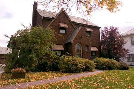 A beautifully maintained brick home. Lots of charm and details in the brickwork.