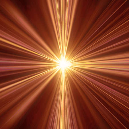 Abstract illustration of a light tunnel. Could be used as a spiritual concept design or a sunburst background. Stock fotó