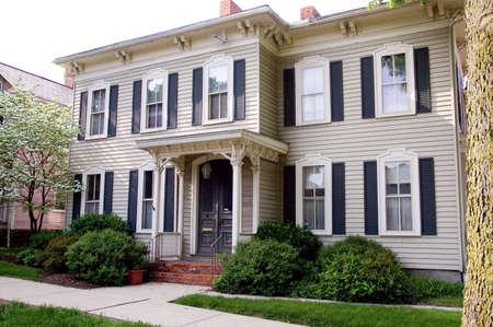 restored: Beautiful restored house in Lancaster Ohio.