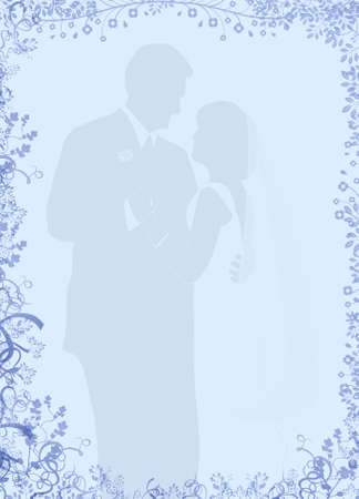 Wedding Couple Stationery Stock Photo - 14569300