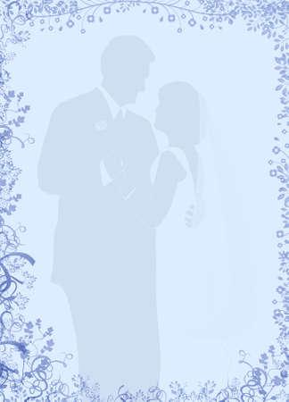 papeleria: Wedding Stationery Pareja Foto de archivo