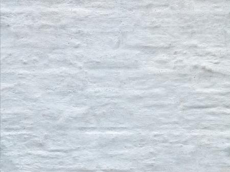 きれいな白いれんが造りの修道院の壁のテクスチャ 写真素材
