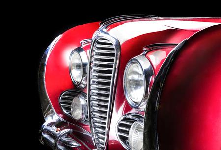 Delahaye 175 Adler Trumpf Junior brown luxury retro car Cabrio Limousine dark background Editöryel