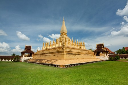 Temple of lao Stock Photo - 7596777