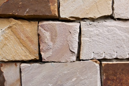 durable: Old brick wall, but pretty durable Stock Photo