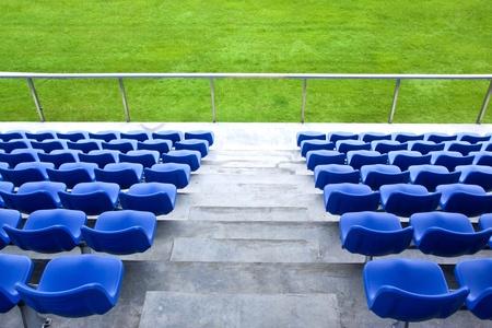 gradas estadio: Estadio Foto de archivo