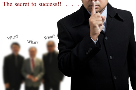 The secret to the success of the business. Stock Photo - 9982142