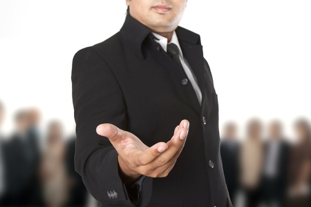 Businessman : Welcome to our team  Stock Photo - 13589623