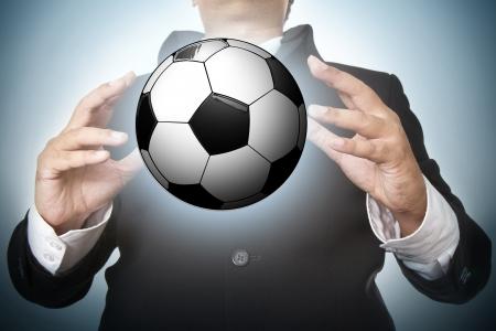 football light poster, easy editable photo