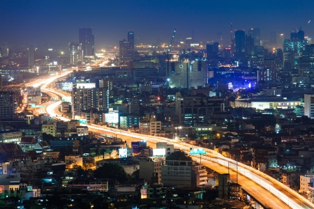 Express highway in the Bangkok