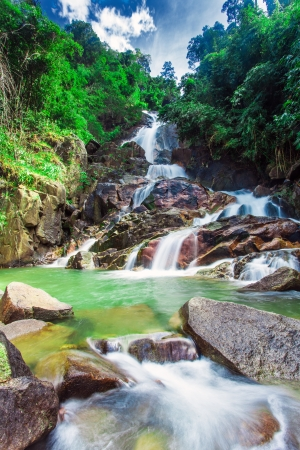 KrathingWaterfall in chanthaburi, Thailand