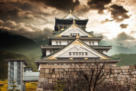 Osaka Castle Stock Photo - 18750113