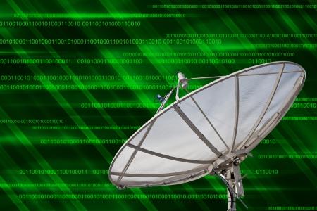 Satellite dish Communication