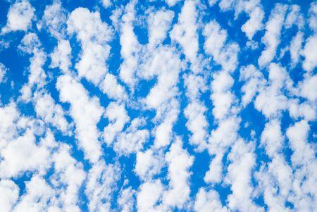 Wispy Clouds Reklamní fotografie