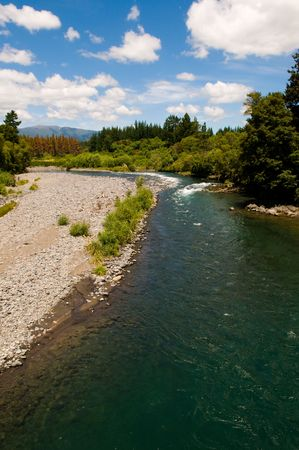 The beatuful Tongariro River in New Zealand