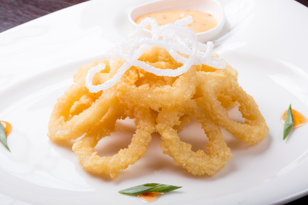 calamares: Fried squid rings