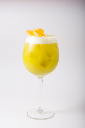 Alcohol cocktail glass Reklamní fotografie