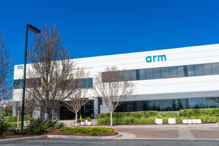 Arm Holdings headquarters in Silicon Valley. Arm is a global semiconductor and software design company - San Jose, California, USA - 2020