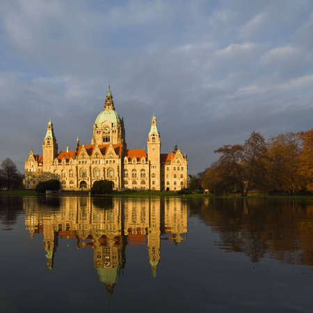 New town hall in Hannover, Germany photo
