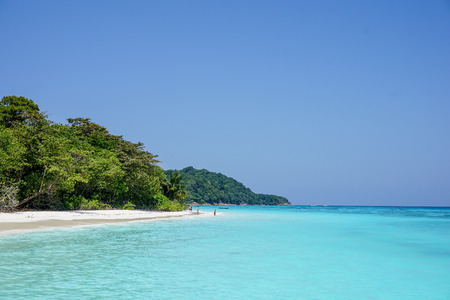 Koh Tachai offers one of the best white sand beaches in the world, Thailand