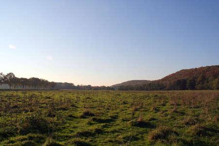 desolate: A desolate plain in Milsbeek, Netherlands