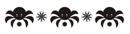 crab ornament Stock Vector - 6482478