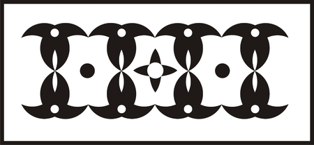 ecoration: Geometric Ornament Illustration