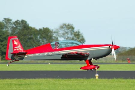 An airplane in a dutch airshow Stock Photo - 11673038