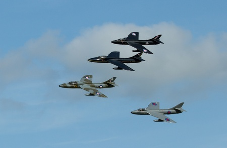 airpower: Hawker Hunters on a dutch airshow