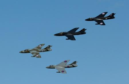 airpower: Hawker Hunters su un airshow olandese Editoriali
