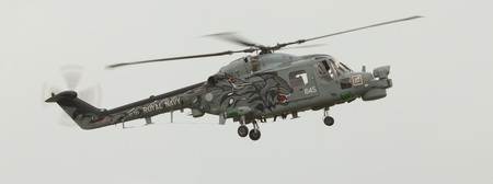 airpower: A lynx helicopter in an airshow Editorial