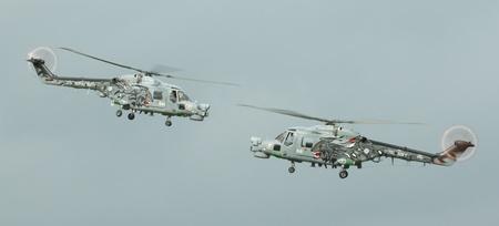 airpower: Due elicotteri Lynx in un airshow