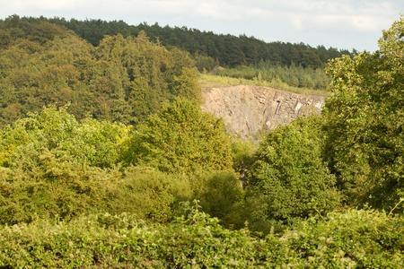 terrena: Una cava nelle Ardenne Belgio