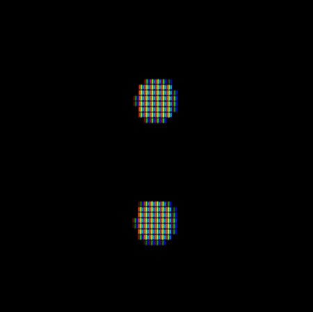 Close-up of the symbol : on a computer screen photo