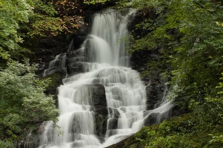 Une chute d'eau dans la région centrale de l'Irlande