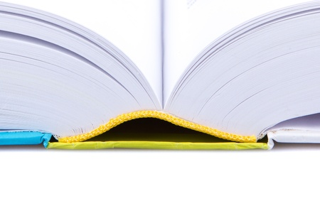 Close-up of a modern opened book (Holland) Stock Photo - 13142497