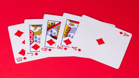 Cards for the poker on the table Stock Photo - 13652025