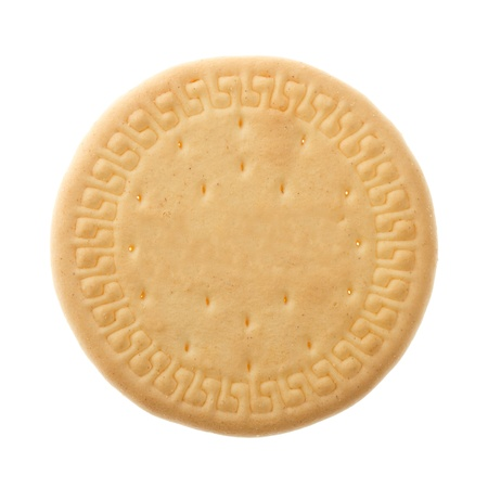 Close up delicious biscuit - isolated on white background Stock Photo - 14410992