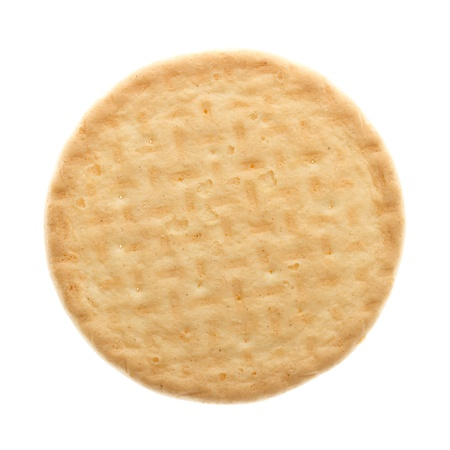 Close up delicious biscuit - isolated on white background Stock Photo - 14411050
