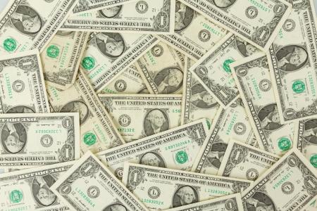 달러: 원활하게 tileable 반복 1 달러 지폐, 미국 통화