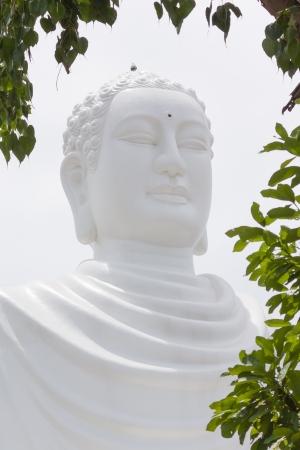 far eastern: Large Buddha, landmark on Nha Trang, Vietnam