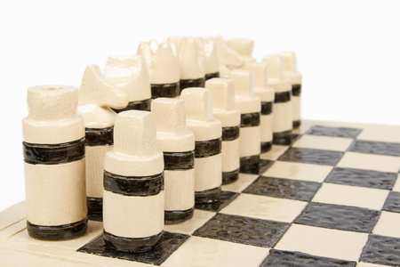 chess set (pottery) photo