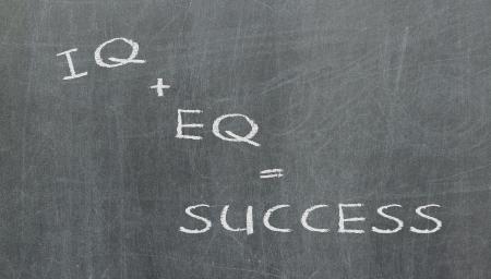 Formula for success, written on a blackboard Stock Photo - 16438324