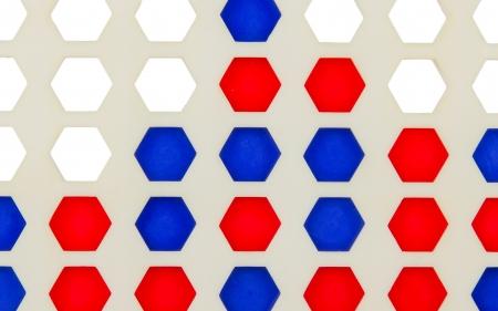 Bingo, line-up 4 isolated in white background Stock Photo - 16631435