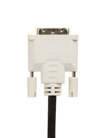 unplugged: Unplugged Screen - Monitor power cable connector, isolated