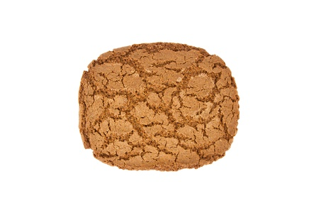 strooigoed: Speculaas biscuit, speciality from Holland, isolated on white