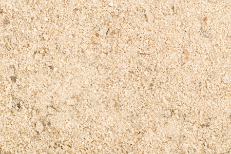 Close up of industrial white sand on wall background photo