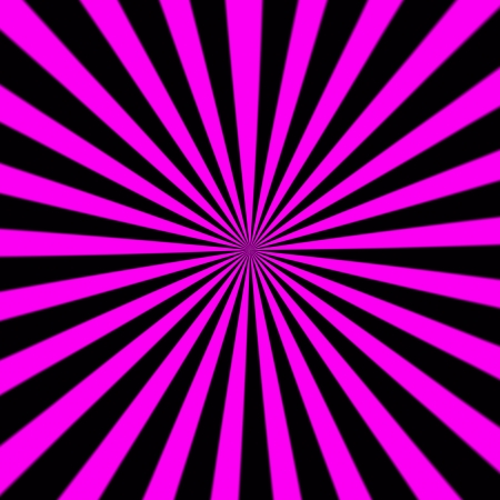 Starburst background, sunbeams going in all directions, pink and black photo