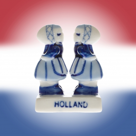 Dutch souvenir as a symbol of Holland, homosexual photo